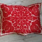 Cushion Cover from Vintage Transylvanian Embroidery -parna